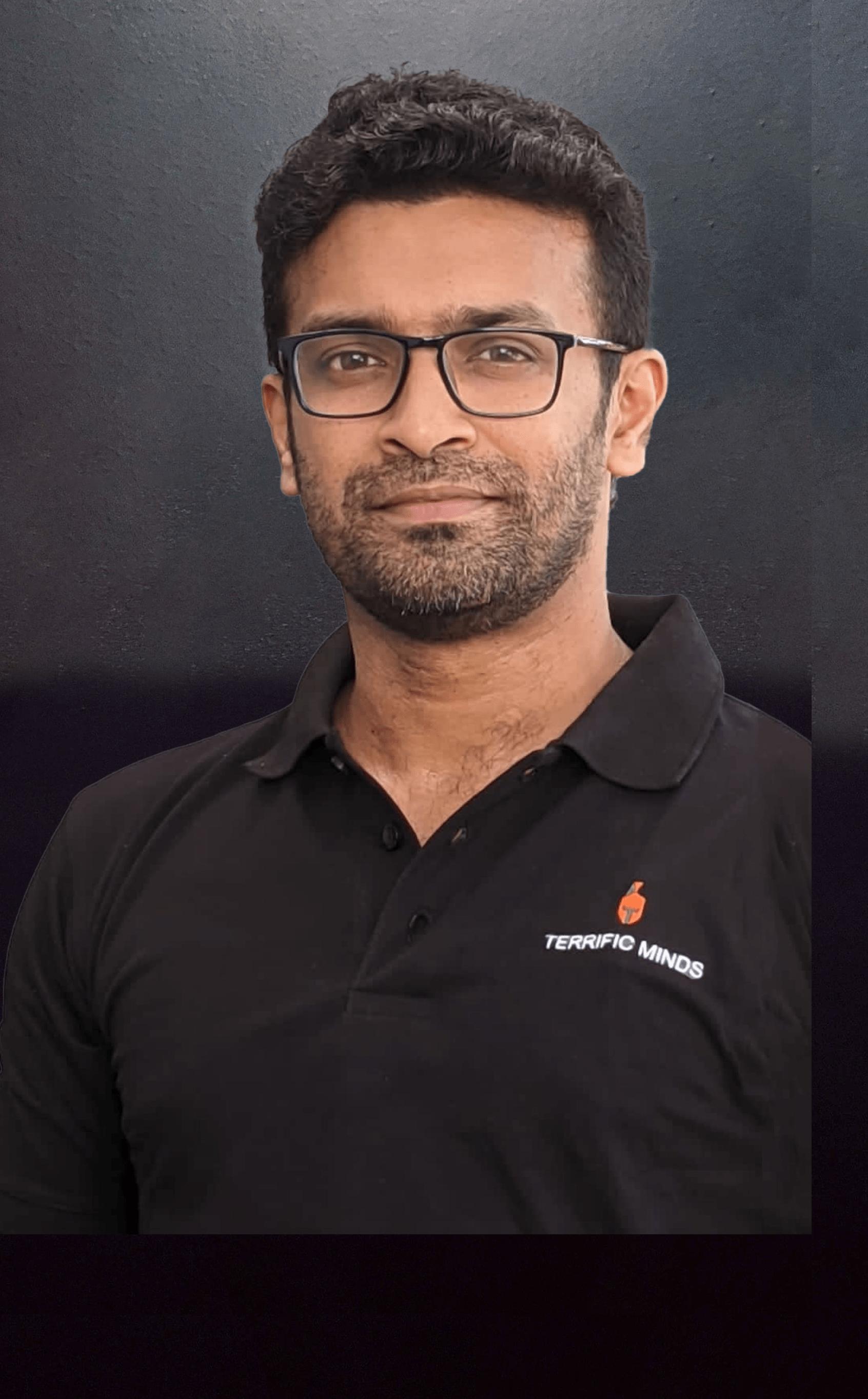 Abhilash Jayapal Terrific Minds CEO & Founder